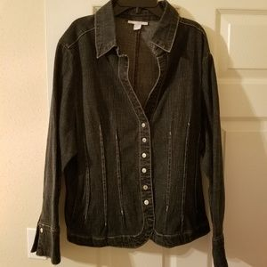 Dress Barn 14/16 Jean Jacket